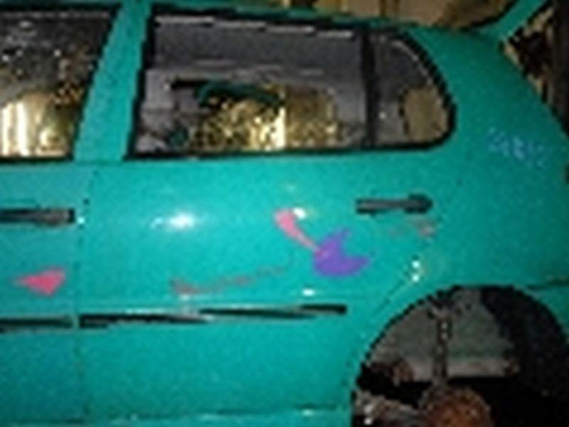 Tür links hinten 5-Türer VW POLO III (6N)  1.4