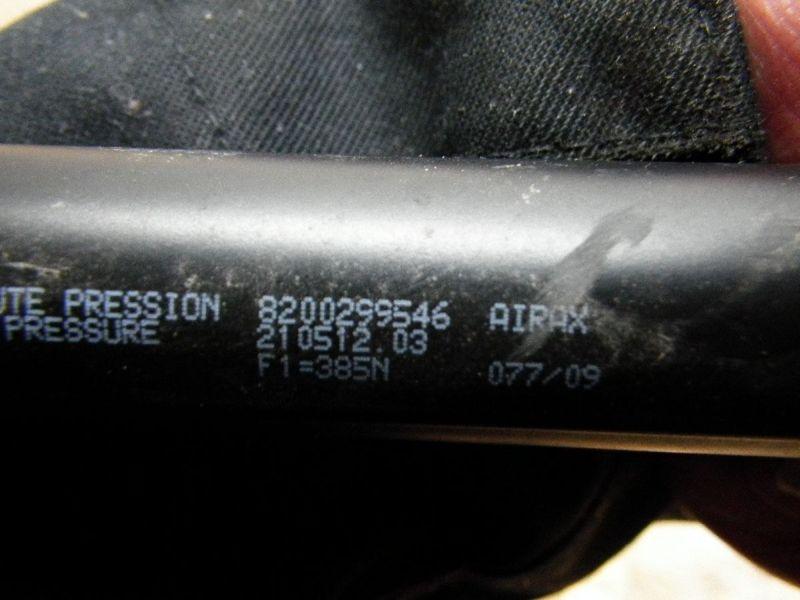 Heckklappendämpfer RENAULT CLIO III (R)  1.2 16V