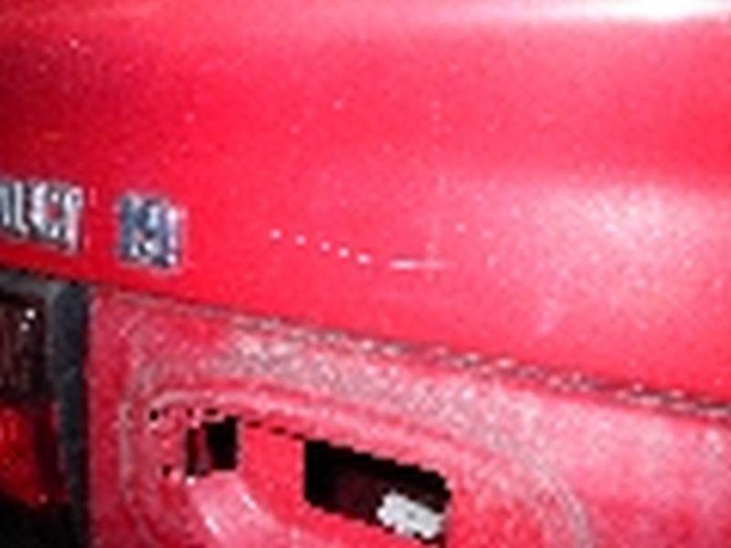 Heckklappe / Heckdeckel RENAULT 19 II Cabriolet (D 53)  1.8