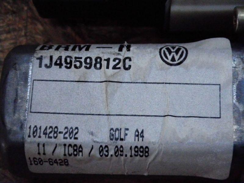 Motor Fensterheber rechts hinten VW Golf IV (1J)  1.6