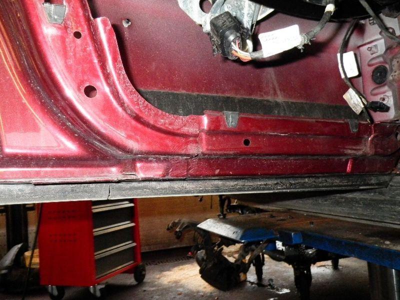 Tür links hinten 5-Türer FaceliftAUDI A4 AVANT (8D, B5)  2.5 TDI