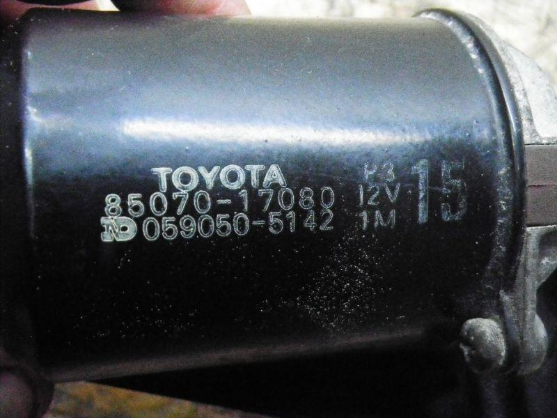Wischermotor vorne TOYOTA MR 2 (W2)  2.0