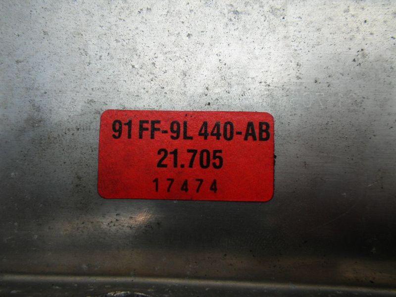 Ladeluftkühler FORD Escort VII Stufenheck (GAL, AFL)  1.8 TD
