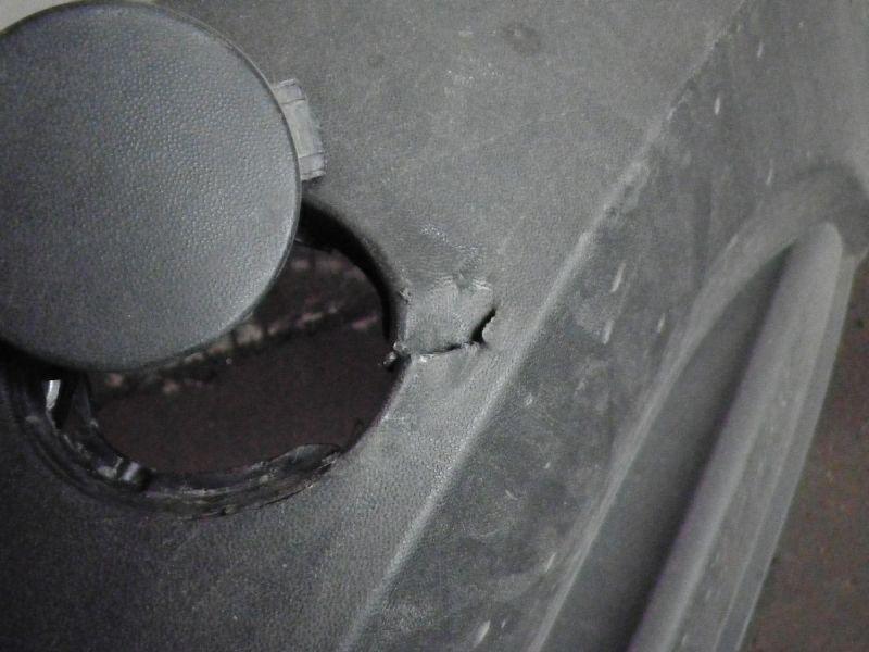 Stoßstange hinten VW TIGUAN (5N)  1.4 TSI