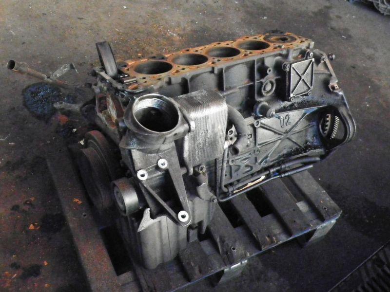 motorblock verk. als defekt mercedes-benz m-klasse (w163) ml 270 cdi