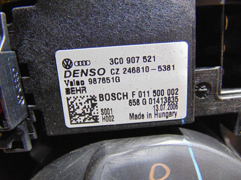 Innenraumgebläse Gebläsemotor HeizgebläseVW GOLF V 5 PLUS (5M1) 1.9 TDI
