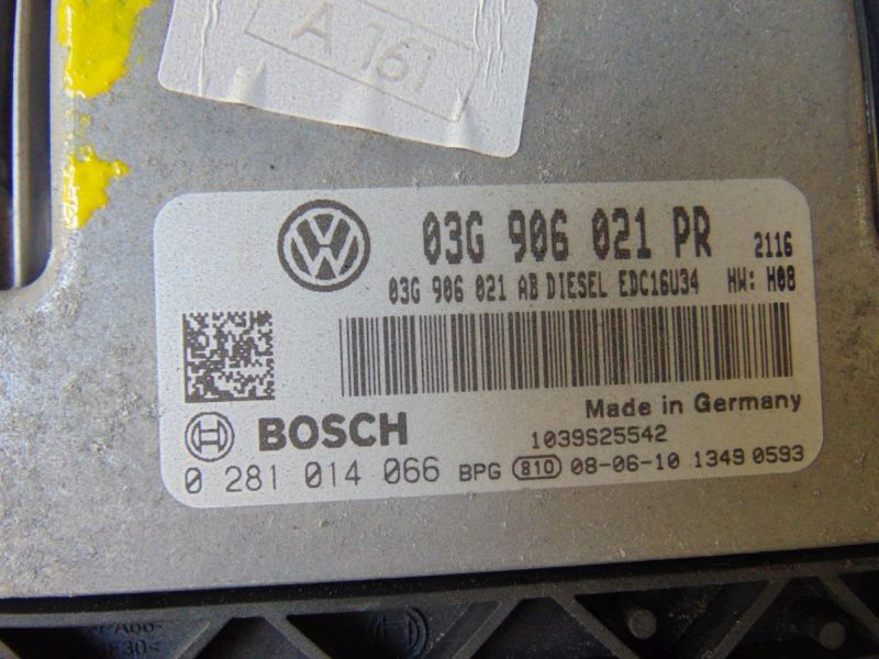 Steuergerät Motor VW GOLF V (1K1) 2.0 TDI