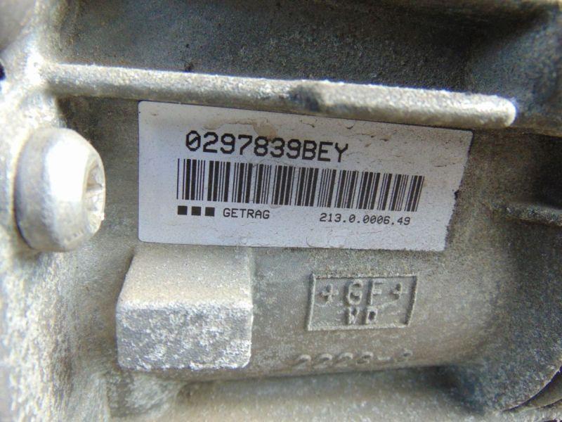 Getriebe (Schaltung) 6 Gang Schaltgetriebe verk. als Def.BMW 3 TOURING (E91) 318D