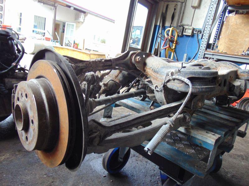 Achse hinten Hinterachse Differential verk. als Def.BMW 3 TOURING (E91) 318D