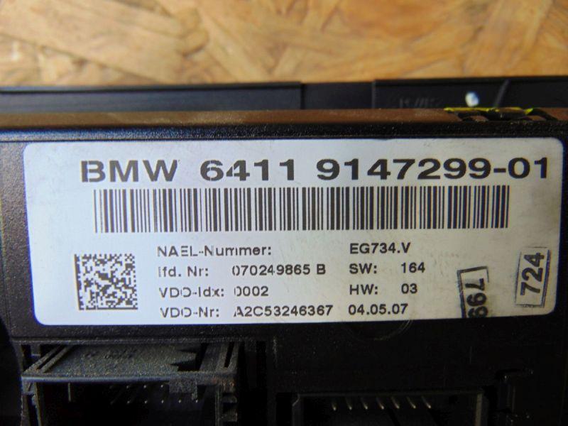 Heizungsbetätigung (Konsole) KlimabedienteilBMW 3 TOURING (E91) 318D