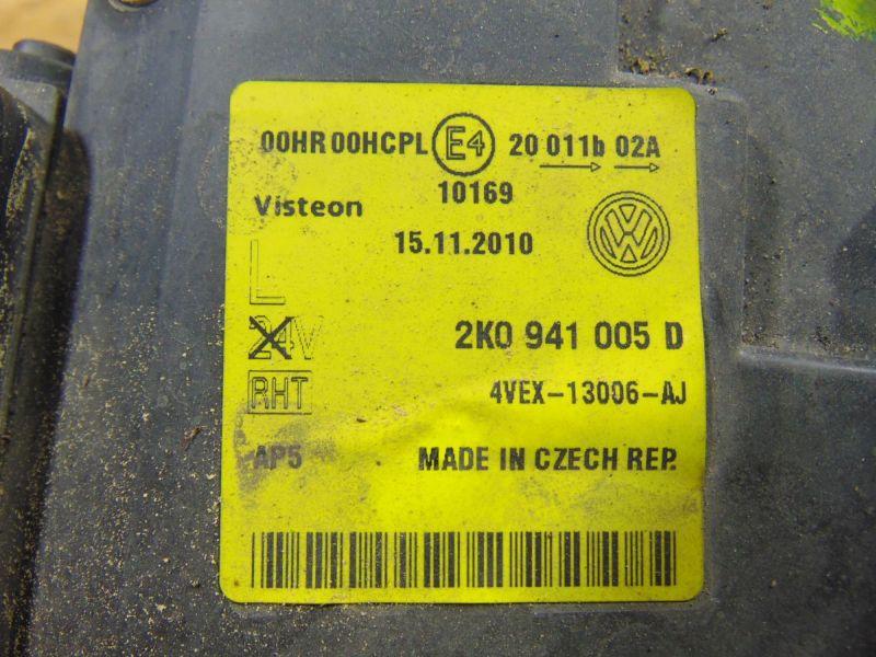 Hauptscheinwerfer links VW TOURAN (1T1, 1T2) 1.9 TDI
