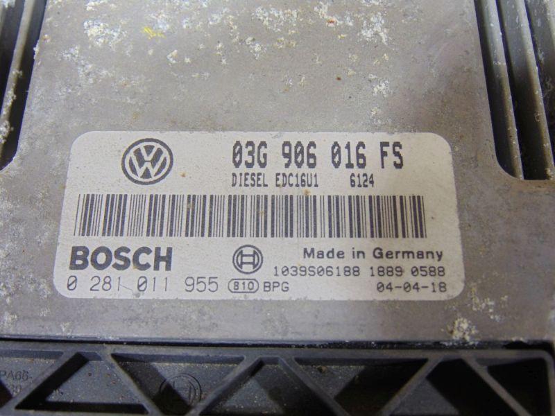 Steuergerät Motor VW GOLF V (1K1) 1.9 TDI