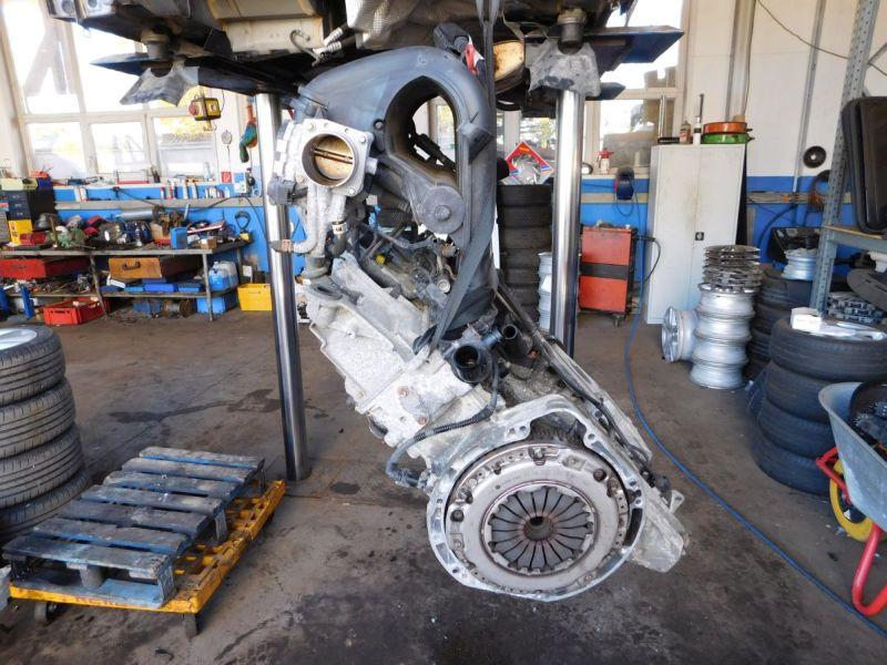 Motor ohne Anbauteile (Benzin) verk. als Def.MERCEDES-BENZ A-KLASSE (W169) A 150