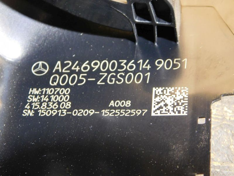 Sonstiges Teil Kunststoff Abdeckung LenksäuleMERCEDES-BENZ CLA SHOOTING BRAKE (X117) CLA 250