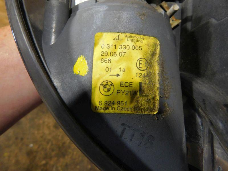 Hauptscheinwerfer links Halogen   BlinkerBMW 3 COMPACT (E46) 316 TI