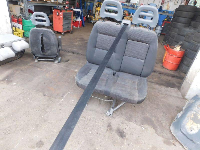 Sitz vorne rechts Beifahrersitz DoppelsitzbankFIAT DUCATO BUS (250) 120 MULTIJET 2,3 D