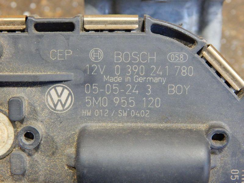 Wischermotor vorne rechts   GestängeVW GOLF PLUS (5M1, 521) 1.4 16V