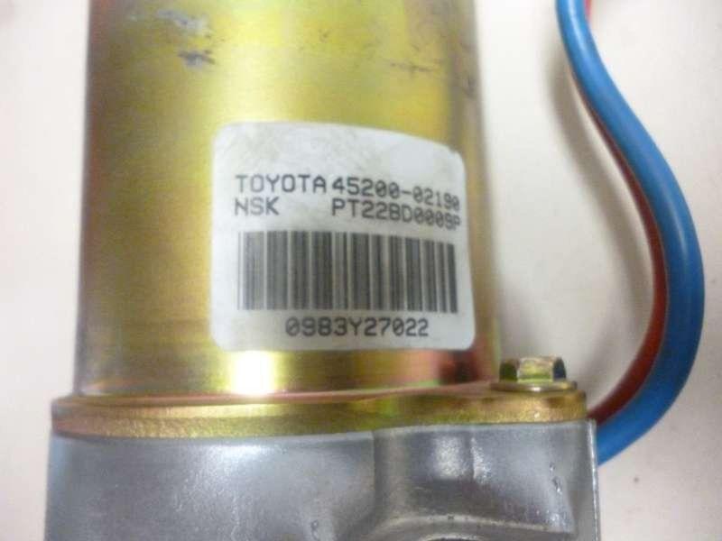 Servopumpe TOYOTA Corolla (E12)  1.6 VVT-i