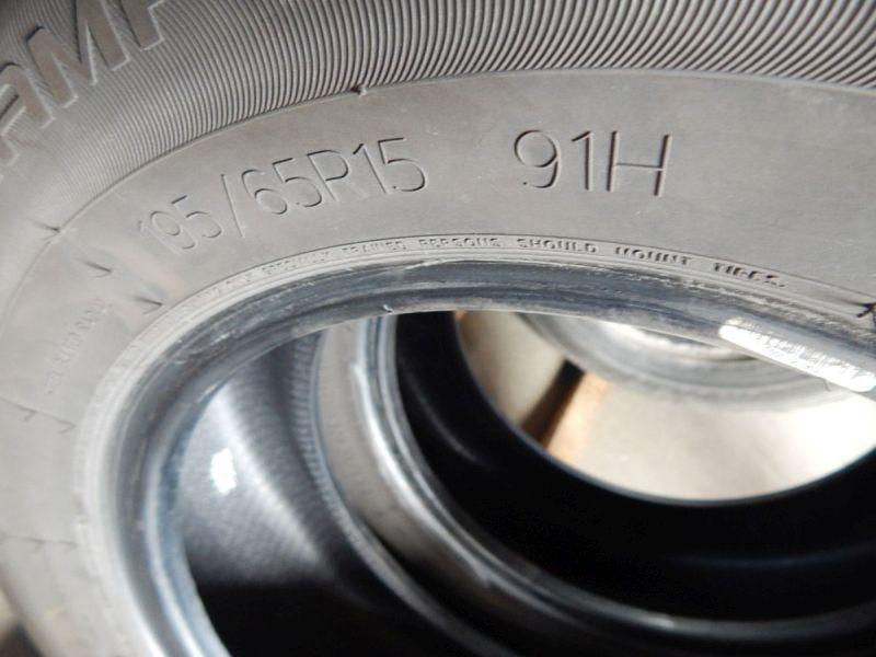 Reifen: 195/65 15 91H1Satz(je2Stück)