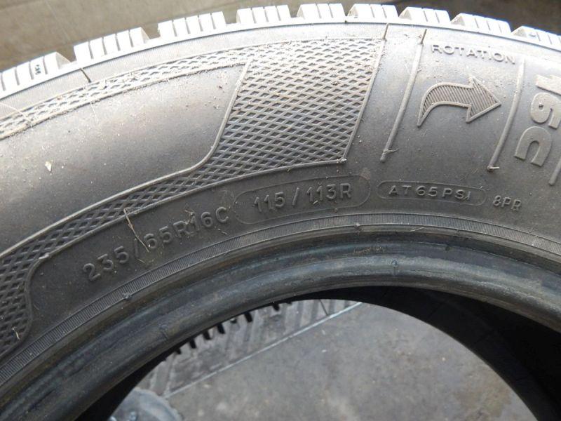 Reifen: 235/65 R16C 115/113R