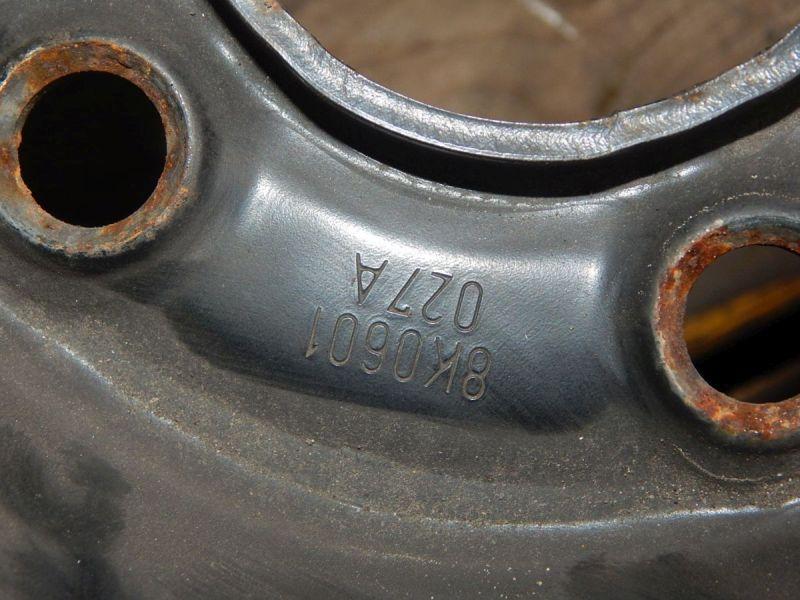 Felge: 7JX16 H2 ET39 LK5X112X66,61Satz(je4Stück)