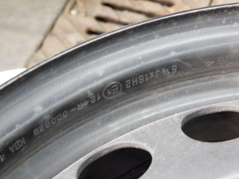 Felge: 6,5JX16 H2 ET41 LK5X1051Satz(je4Stück)