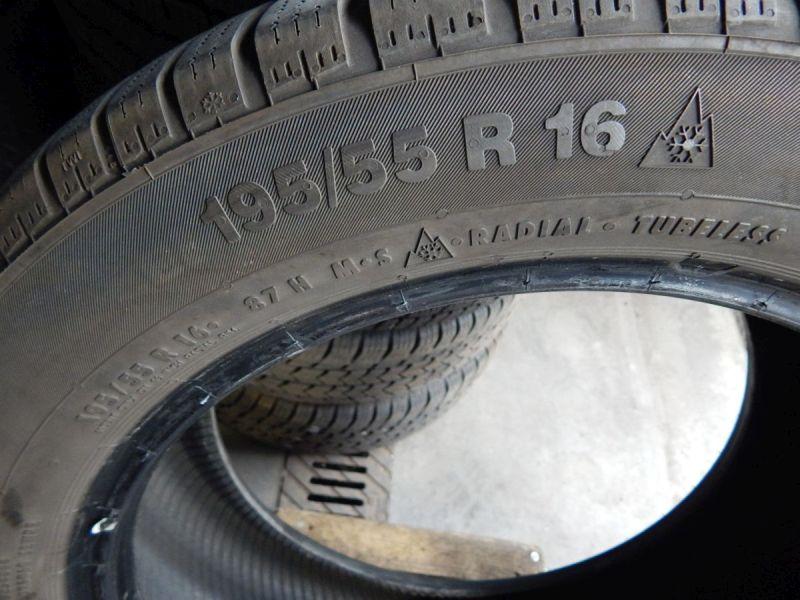 Winterreifen195/55 R16 87H1Satz(je2Stück)