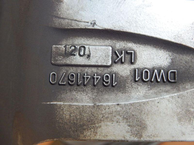 Felge: 7JX16 H2 ET30 LK5X120X72,61Satz(je4Stück)