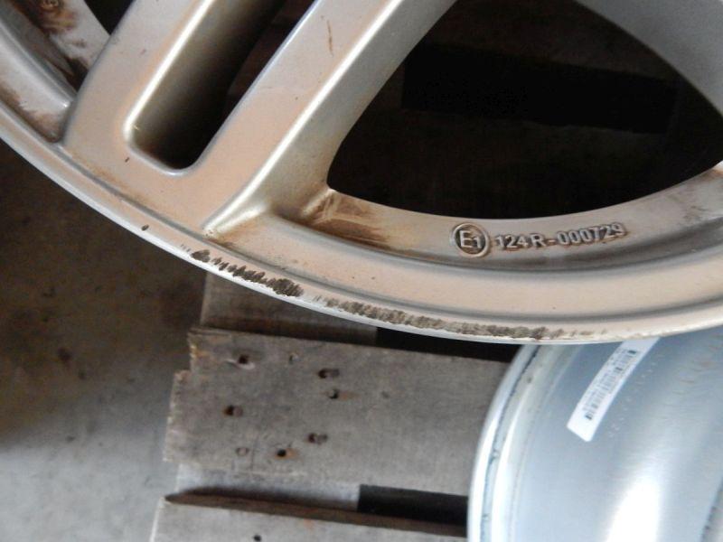 Aluminiumfelge 8JX17 H2 ET39 LK5X112X66,61Satz(je4Stück)