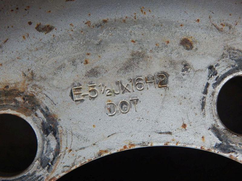 Stahlfelge 5.5JX16 LK6X170X130,1