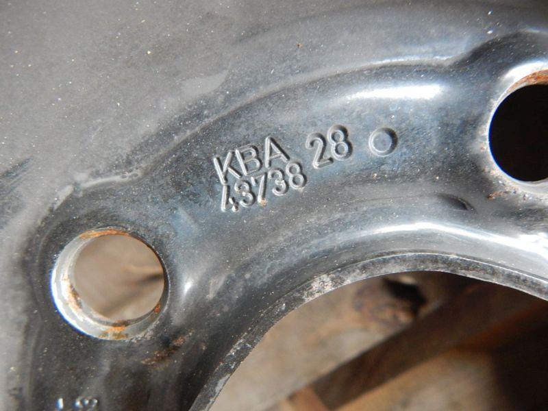 Stahlfelge 6,5JX16 H2 ET41 LK5X115X70,41Satz(je4Stück)