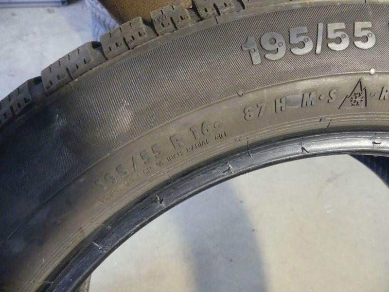 Winterreifen195/55 R16 87H1Satz(je4Stück)