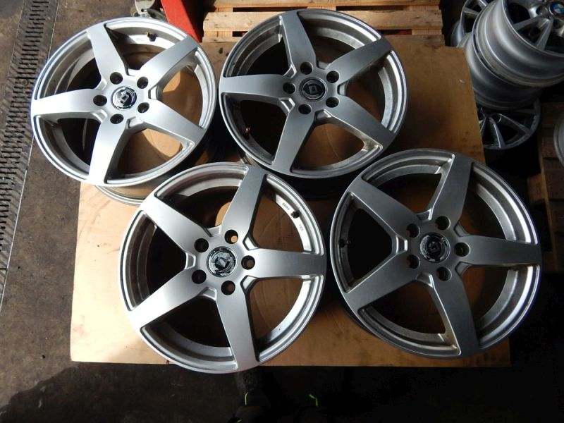 Aluminiumfelge 6.5JX16 H2 ET48 LK5X112X57,11Satz(je4Stück)