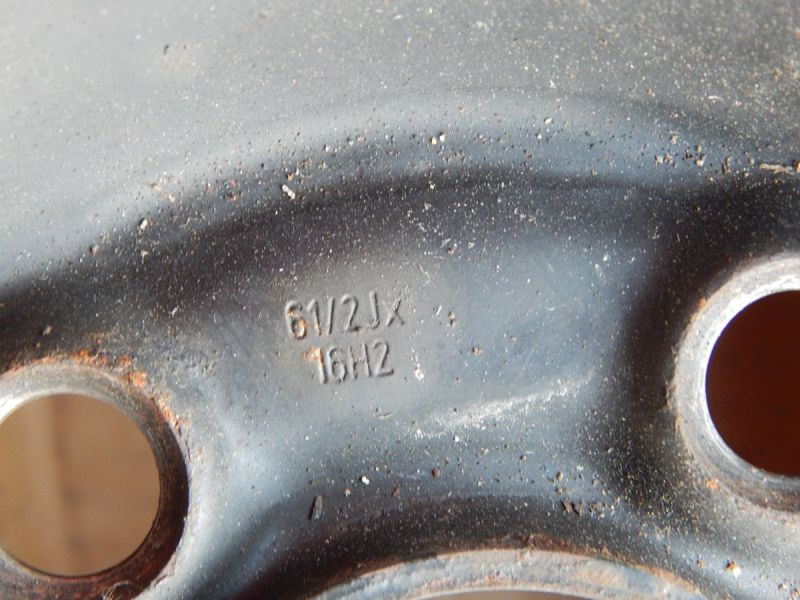 Stahlfelge 6.5JX16 H2 ET42 LK5X100X57,11Satz(je4Stück)