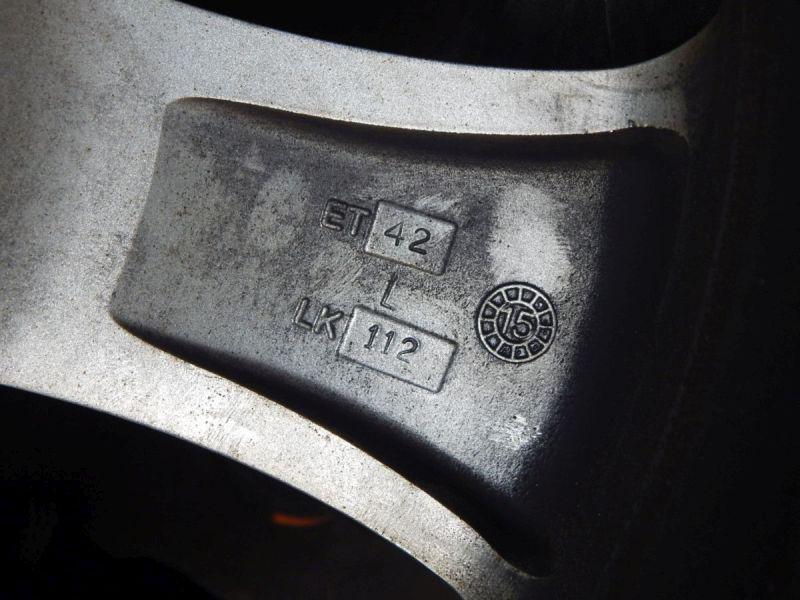 Aluminiumfelge 8JX18 H2 ET42 LK5X112X66,61Satz(je4Stück)