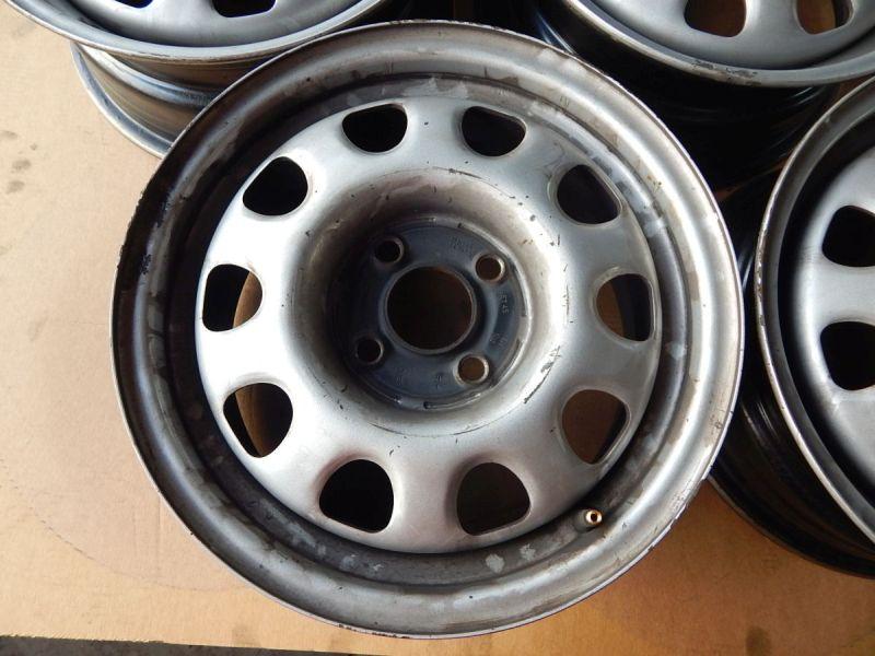 Stahlfelge 6JX14 H2 ET45 LK4X100X57,11Satz(je0Stück)